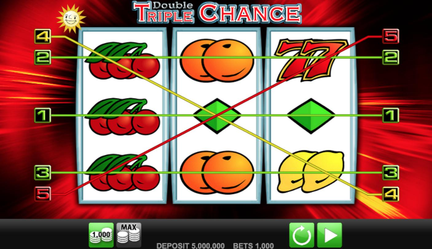 Double Triple chance Online Slot