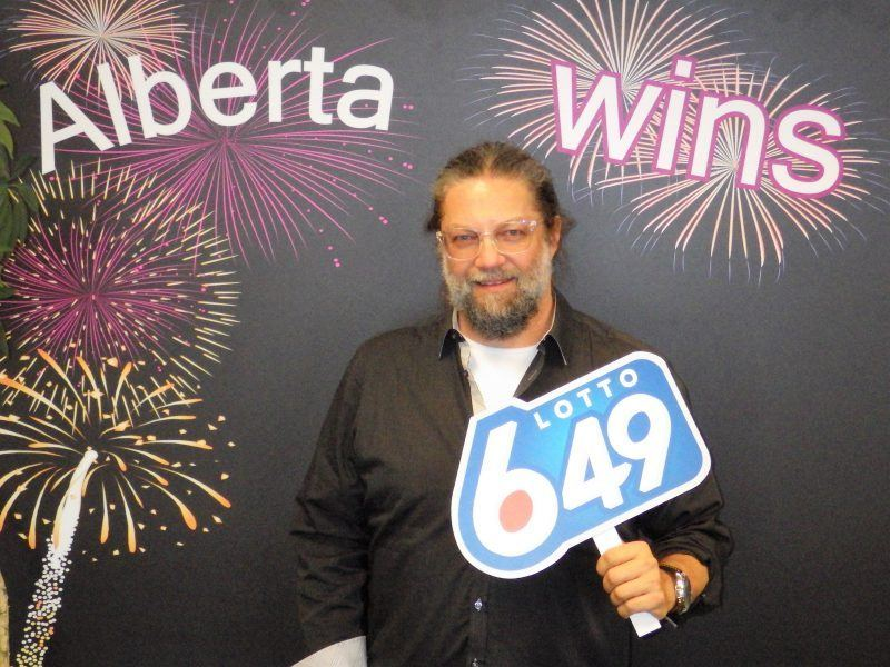 Greg Gerla won $1 million on the Jan. 27 Lotto 6-49 guaranteed prize draw. (Supplied)