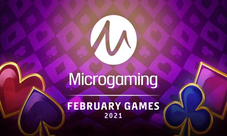 Microgaming guarantees a fun February with 20 new game releases