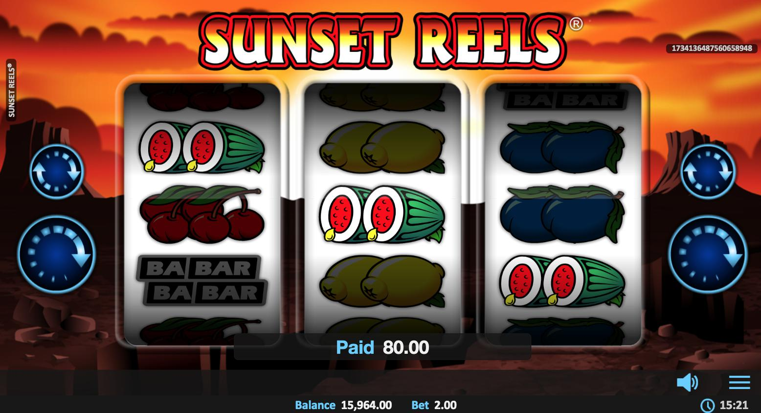 Sunset Reels Online Slot