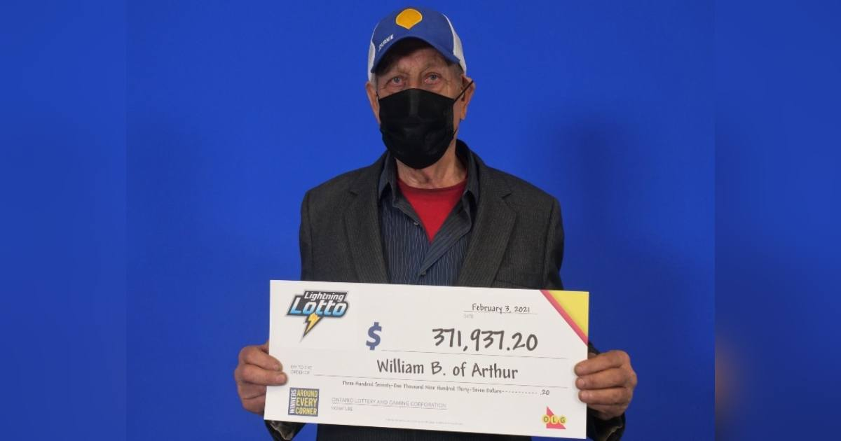 Ontario Octogenarian gets a new lease on life with $371,900 lotto win