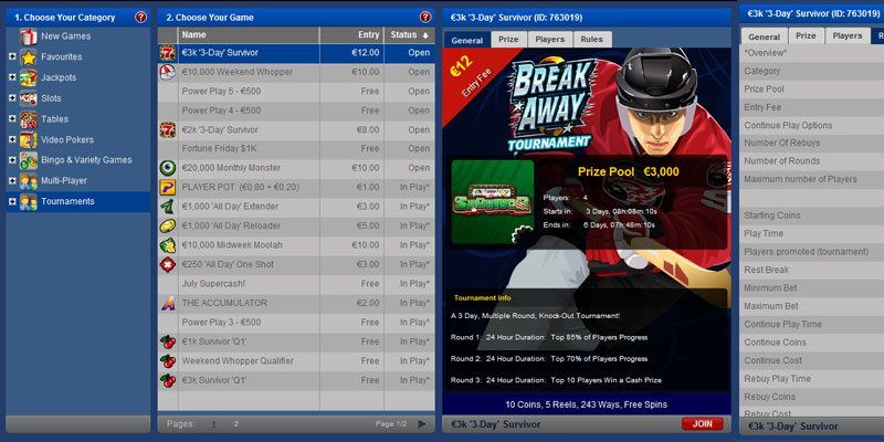 Free Slots Tournaments Online