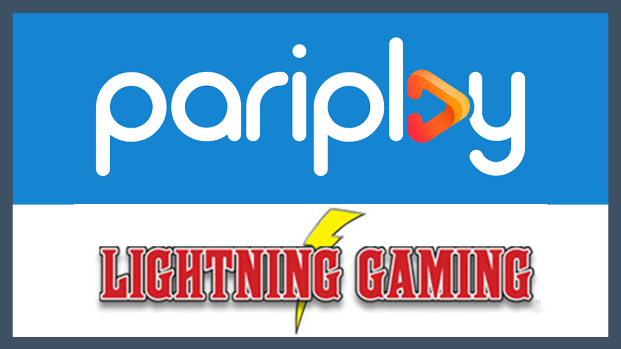 Lightning Gaming strikes deal with Pariplay for Online Casino market debut