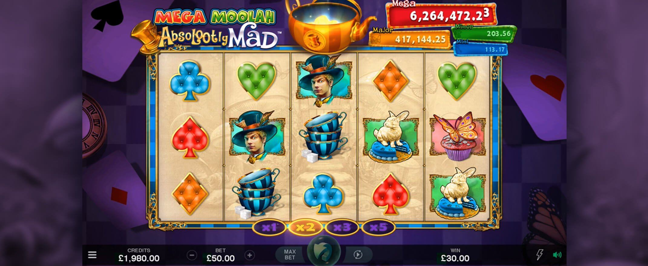 JohnSlots Absolootly Mad Mega Moolah Slot