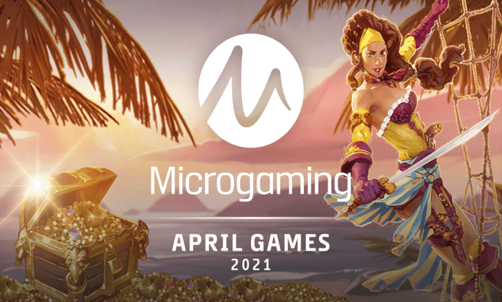 Microgaming's April releases offer an abundance of choice