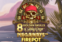 8 Golden Skulls of the Holly Roger Megaways Online Slot