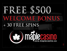 Maple Casino Offer