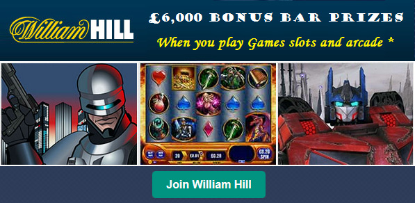 William Hill Online Slots for Canada