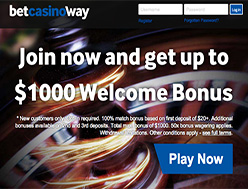 Betway casino 100 free spins