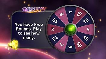 NetEnt Free Round Widget