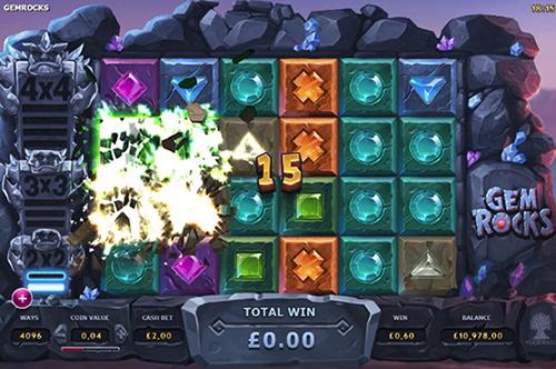 Gem Rocks Yggdrasil Online Slot