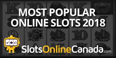Most popular online slots 2018