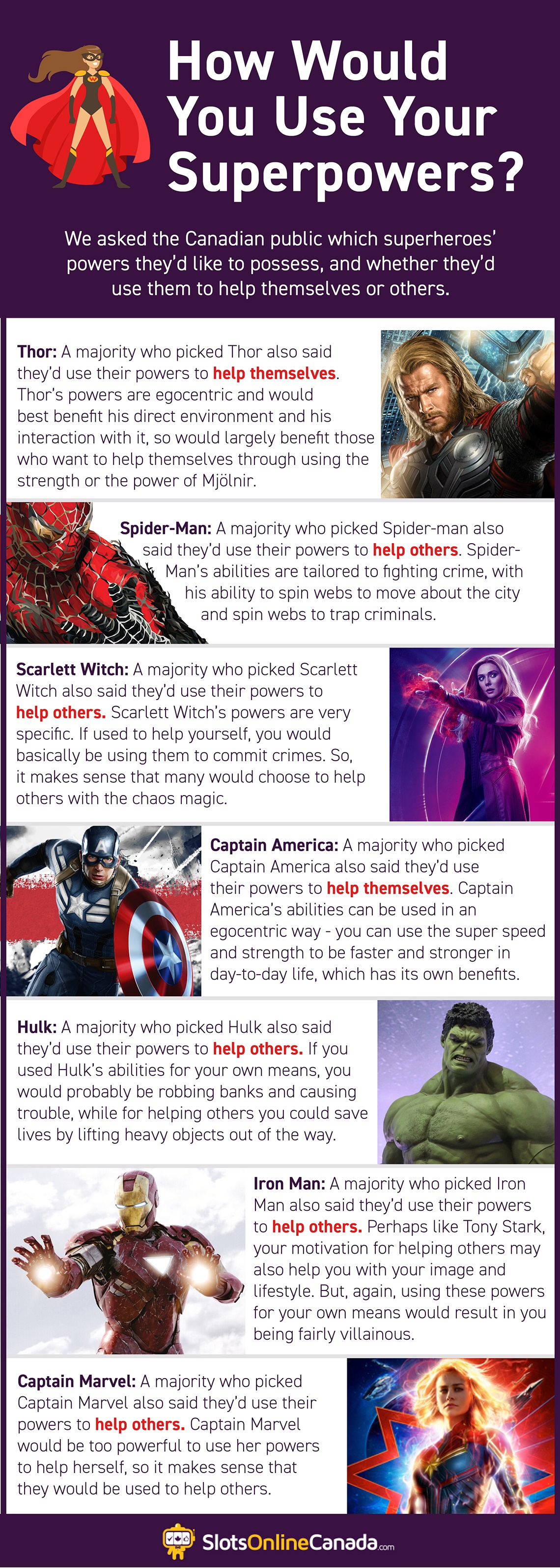 How would you use your superpowers