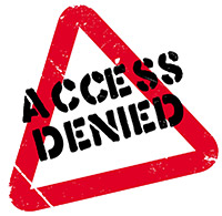 Access denied from self exclusion