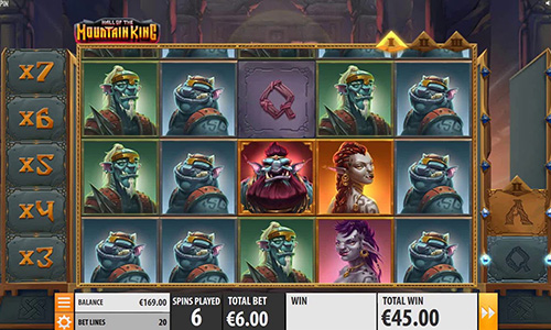 Hall of Mountain King Online Slot