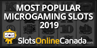 Most Popular Microgaming Slots of 2019