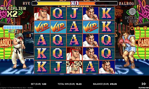 Street fighter online slot